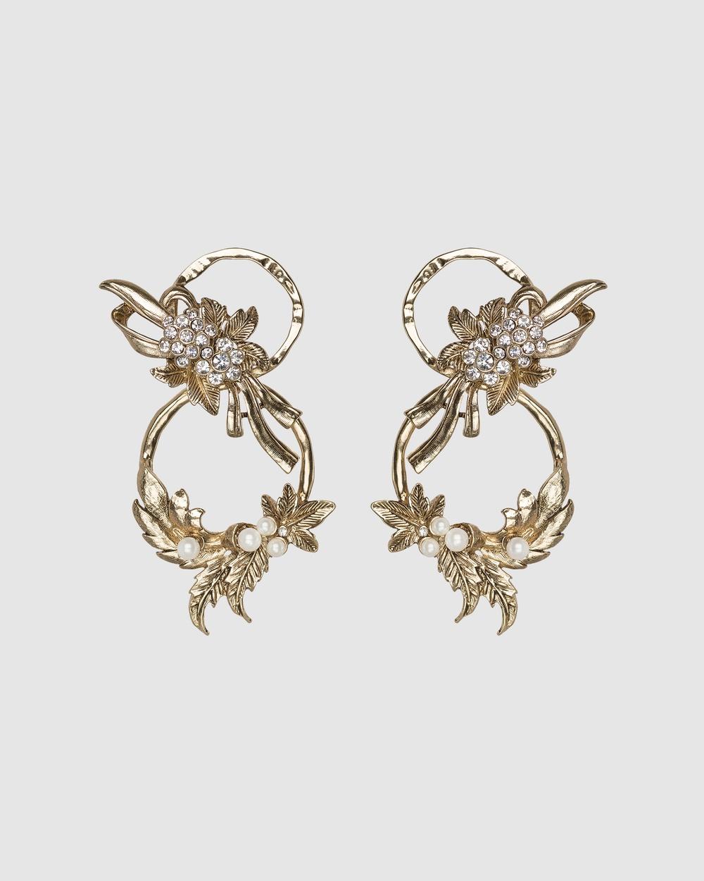 Kitte Premiere Earrings Jewellery Gold