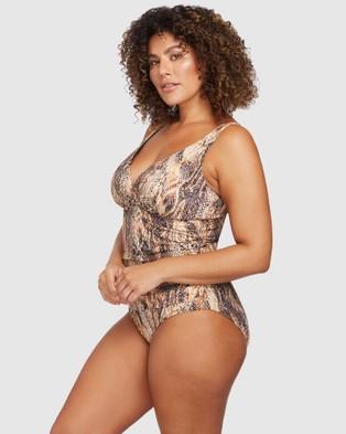Artesands Ser'Piente Brown Delacroix One Piece - One-Piece / Swimsuit (Brown)