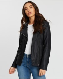 Wallis - Molly Clean Biker Jacket