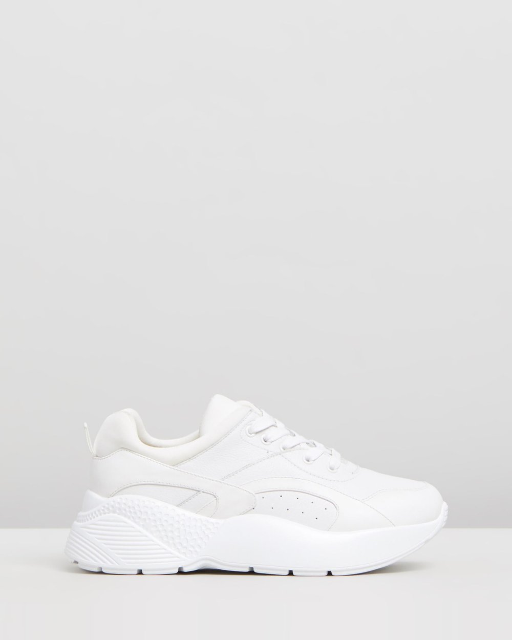 e61ec6cba Romy Leather Sneakers by Atmos Here Online