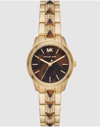 Michael Kors - Runway Mercer Two Tone Analogue Watch MK6855