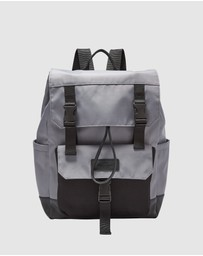 Fossil - Weston Grey Backpack