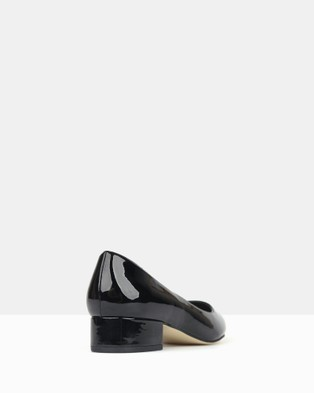 Betts Impulse 2 Pointed Toe Block Heel Pumps - All Pumps (Black Patent)
