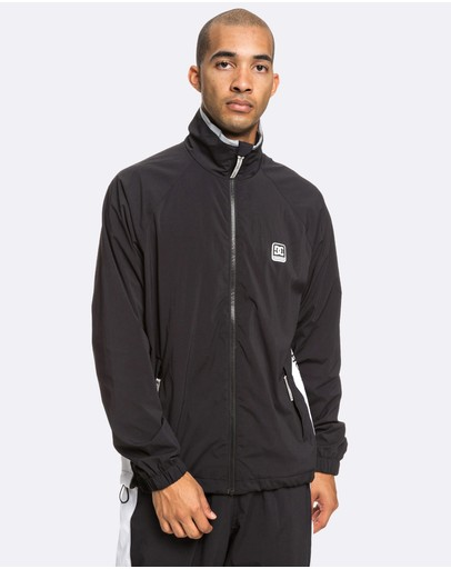 DC Shoes - Mens Welwyn Water Resistant Zip Jacket