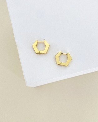 ALIX YANG - Demi Hoops Jewellery (Gold)