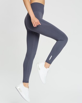 Doyoueven Hyperflex Seamless Leggings - Full Tights (Cool Charcoal)
