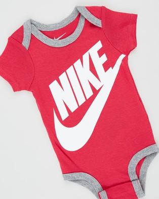 Nike Futura Logo Boxed Set   Babies - Headwear (Rush Pink)