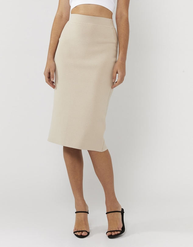 Everly Collective - Simple Pleasures Pencil Skirt