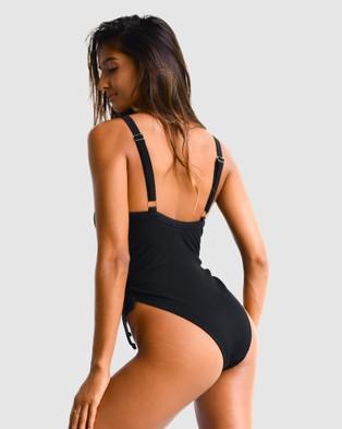 Cali Rae - Macaw Swimsuit One-Piece / (Black)