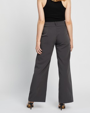 4th & Reckless Brooke Trousers - Pants (Dark Grey)