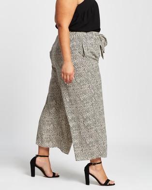 Atmos&Here Curvy Imani Pants - Pants (Mini Animal)