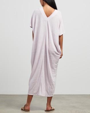 Andrea & Joen Martine V Dress - Dresses (Lilac)
