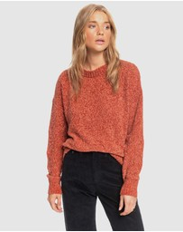 Roxy - Womens Miss It All Chenille Knit Sweater
