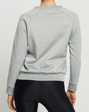 Tommy Hilfiger Fleece Crew Neck - Sweats (Grey Heather)
