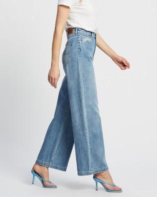 Lee High Wide Jeans - High-Waisted (Azura Blue)
