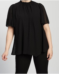 Atmos&Here Curvy - Calista Blouse