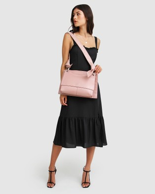 Belle & Bloom Better Together Messenger Bag - Satchels (Dusty Rose)