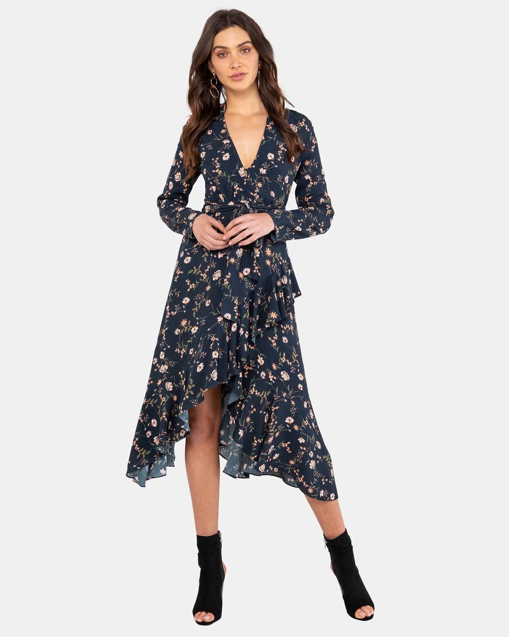 Rodeo Show Skye Midi Dress Dresses Print Skye Midi Dress