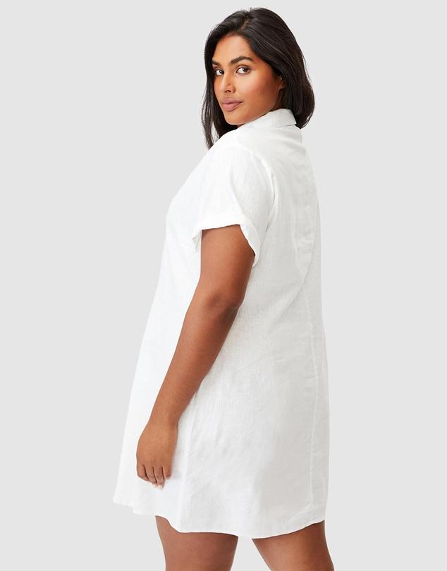 Women Curve Shirt Dress