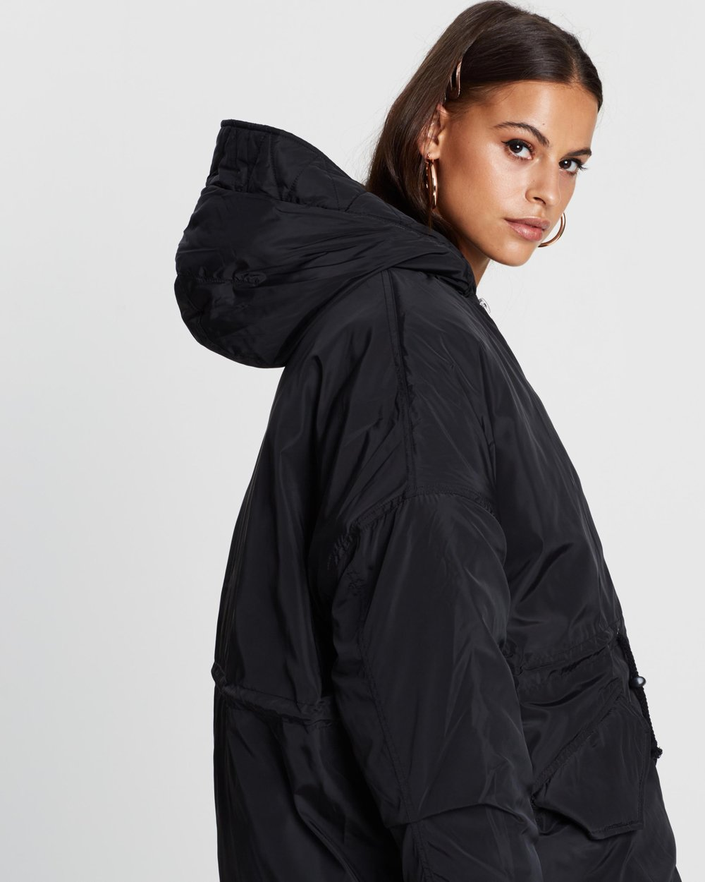 16918984752e9 Cocoon Utility Parka by Missguided Online
