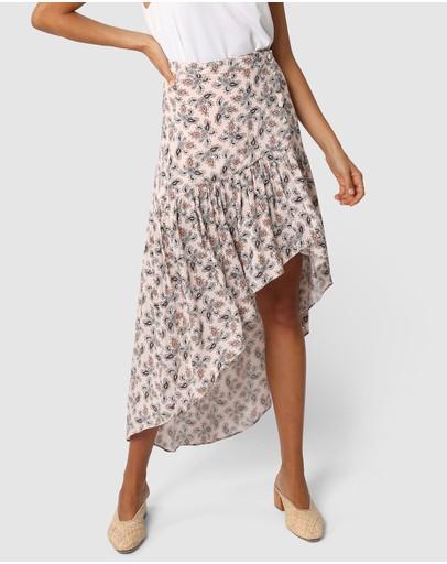 Lost In Lunar Roxy Maxi Skirt Print
