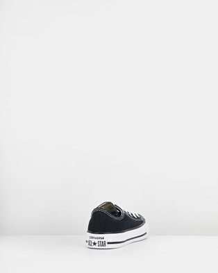 Australia Converse Chuck Taylor All Star Ox Youth Lifestyle Shoes Black
