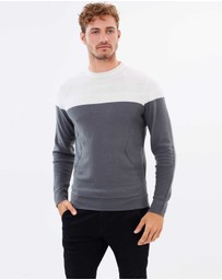 Staple Superior - Oatley Crew Neck Knit