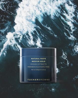 Tucker Browne Natural Paste   Medium Hold - Beauty (Blue)