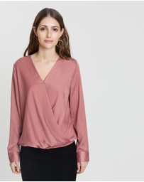 Forcast - Janiyah Crossover Blouse