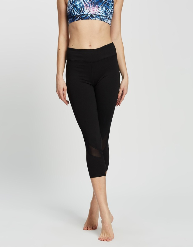 Gaiam - Om Mesh Yoga Capri