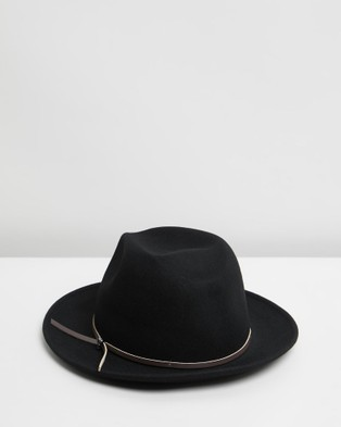 Billy Bones Club The Hendrix Fedora - Hats (Black)