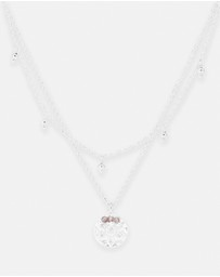 By Charlotte - Eternal Harmony Silver Pendant Necklace