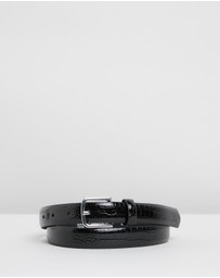 TOPSHOP - Crocodile Smart Belt