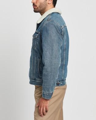 Levi's - Type 3 Sherpa Trucker - Denim jacket (Fable) Type 3 Sherpa Trucker