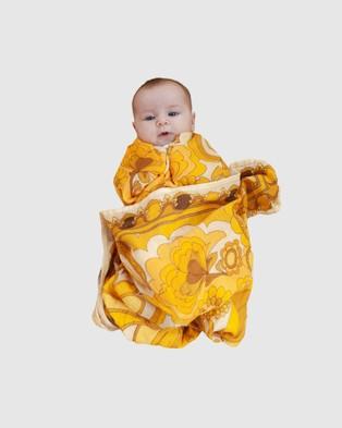 Banabae Golden Child Swaddle Blanket - Blankets (Multi)