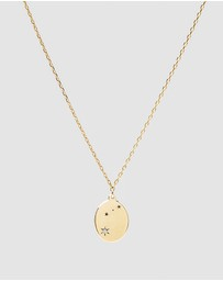 Luna Rae - Solid Gold - Stars of Aries Necklace