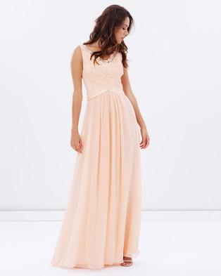 Alabaster The Label – Romantic At Heart Dress – Bridesmaid Dresses Blush Pink