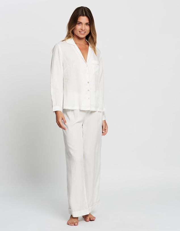 Women Eva Long Pyjama Set