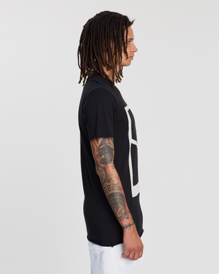 Surrounded By Ghosts The Onyx Logo Slim T Shirt - T-Shirts & Singlets (Logo Black)