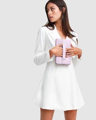 Belle & Bloom Wilona Leather Organiser - Wallets (Lilac)