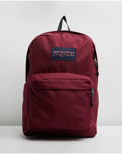 Jansport Superbreak Backpack Russet Red