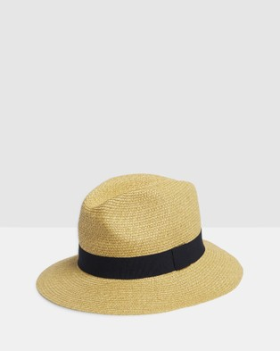 Kate & Confusion Sicily Trilby - Hats (Natural)