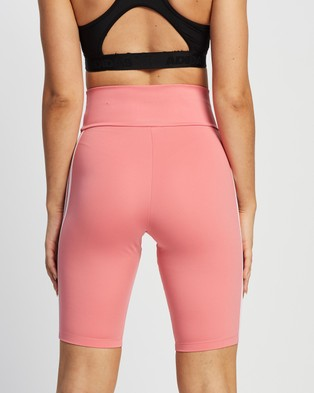 adidas Originals 3 Stripes Short Tights - High-Waisted (Hazy Rose)