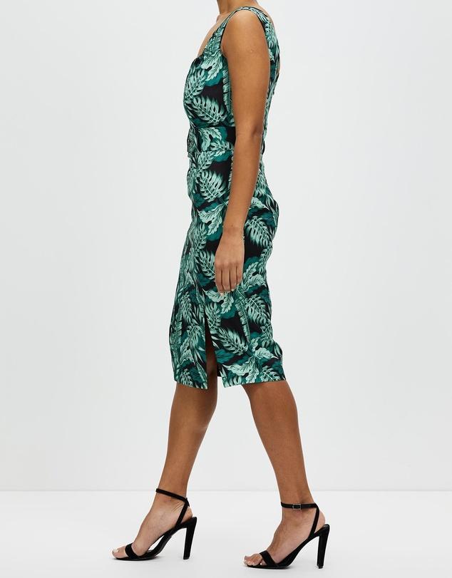 Women Palm Dress