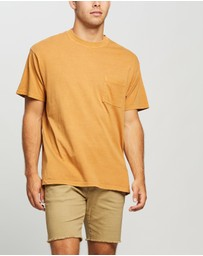 Cotton On - Washed Pocket T-Shirt