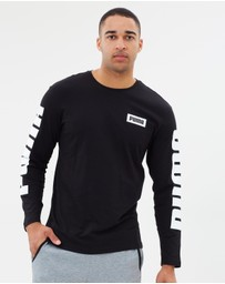 Puma - Rebel Block Crew LS Tee