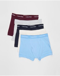 Calvin Klein - Cotton Stretch Trunks - 5-Pack