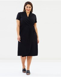 Hope & Harvest - Harper Midi Wrap Dress