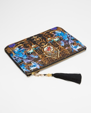 Camilla Small Canvas Clutch - Clutches (Palace Playhouse)