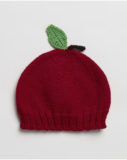 Acorn Kids - Apple Beanie - Babies-Kids